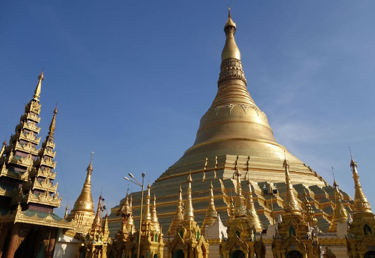 Yangon – die goldene Stadt