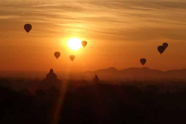 Reisebericht Myanmar Sehenswürdigkeiten Bagan Tempel