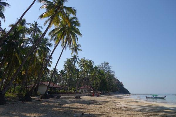 Reisebericht Myanmar Sehenswürdigkeiten Ngapali Beach