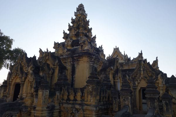 Reisebericht Myanmar Sehenswürdigkeiten Tagesausflug von Mandalay