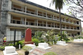 Reisebericht Kambodscha Gefängnis S 21 und Killing Fields