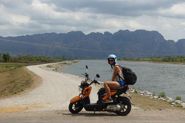 Reisebericht Laos Loop in Laos Landschaft