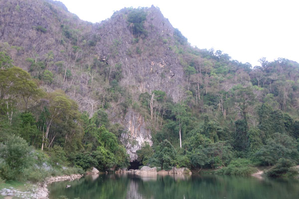 Reisebericht Laos Loop in Laos Tag-2-kong-lor