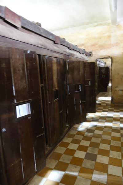 Reisebericht Kambodscha Tuol Sleng Museum (Gefängnis S 21) und Killing Fields
