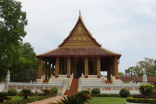 Reisebericht Laos Sehenswürdigkeiten Vientiane-Ho-Phra-Keo