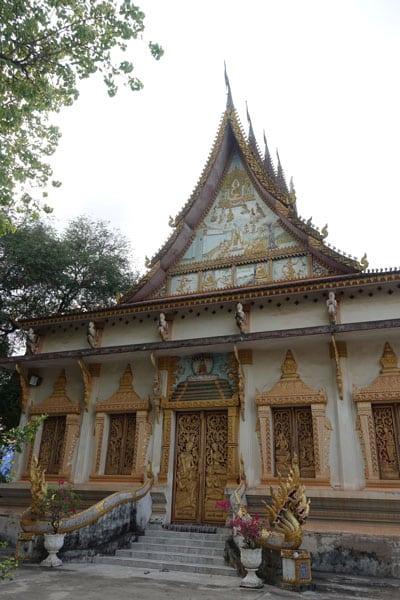 Reisebericht Laos Sehenswürdigkeiten Vientiane-Wat-Hai-Sok