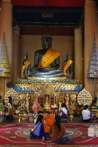 Reisebericht Laos Sehenswürdigkeiten Vientiane-Wat-Ong-Teu
