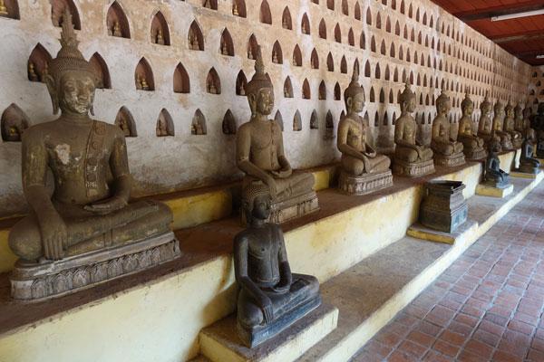 Reisebericht Laos Sehenswürdigkeiten Vientiane-Wat-Sisaket