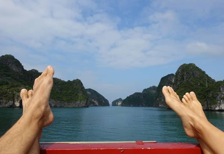Halong Bay & Lan Ha Bay von Cat Ba Island