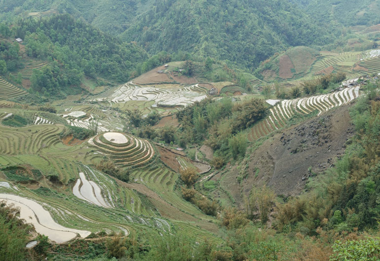 Sapa – Reisterassen und der höchste Berg Indochinas