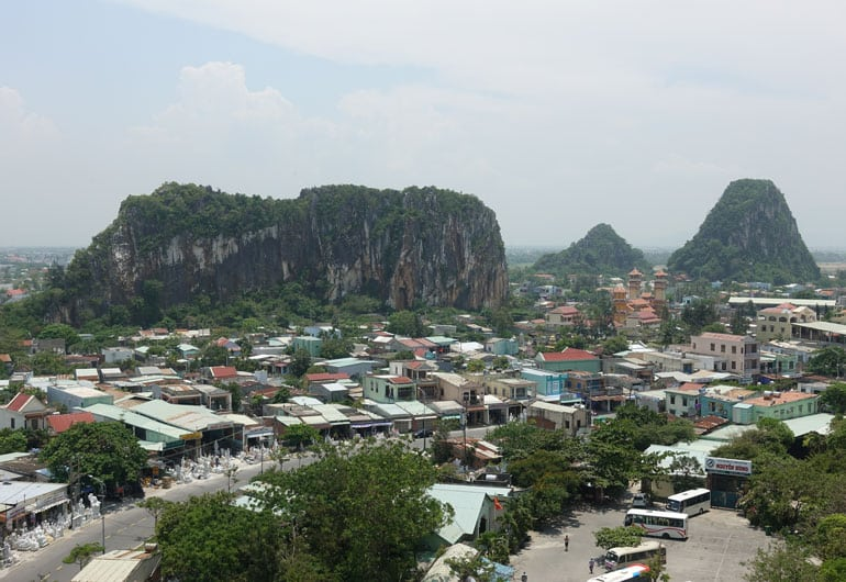 Unsere gebuchte Sightseeing-Tour von Hue über Da Nang nach Hoi An