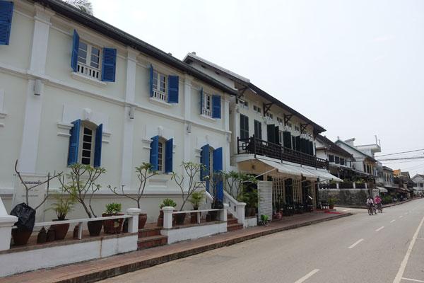 Reisebericht Laos Sehenswürdigkeiten Luang Prabang Promenade