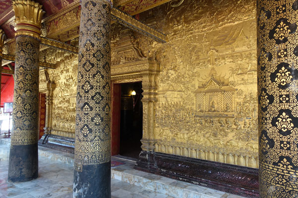 Reisebericht Laos Sehenswürdigkeiten Luang-Prabang-Wat-Mai-Suwannaphumaham