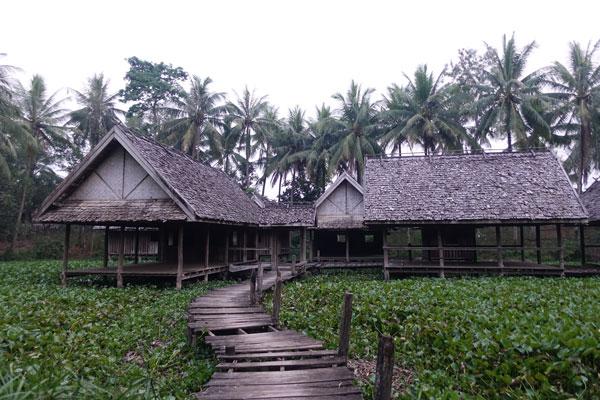Reisebericht Laos Sehenswürdigkeiten Luang-Prabang-Wet-Land-Walking