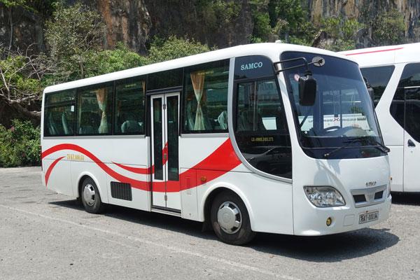 Reisebericht Vietnam Sightseeing Tour Bus Hue nach Hoi An