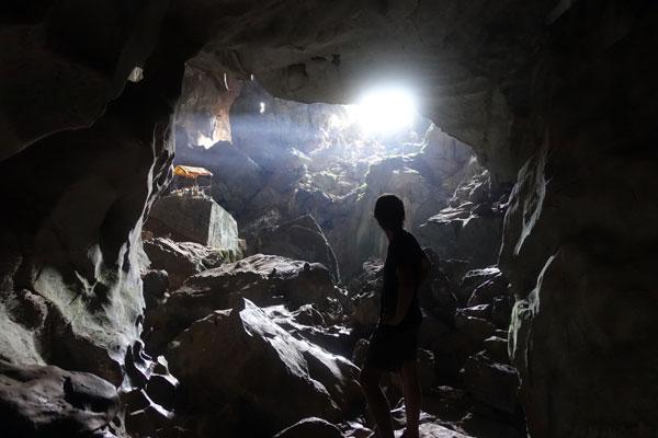 Reisebericht Laos Sehenswürdigkeiten Vang-Vieng-Tham-Phou-Kham