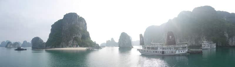 Reisebericht Vietnam Sehenswürdigkeiten Halong Bay Zweitagestour