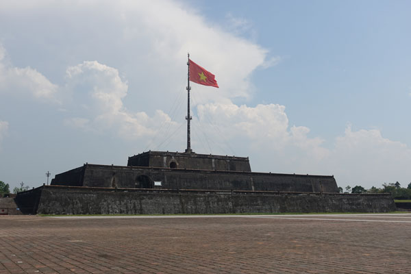 Reisebericht Vietnam Sehenswürdigkeiten Hue Flag Tower