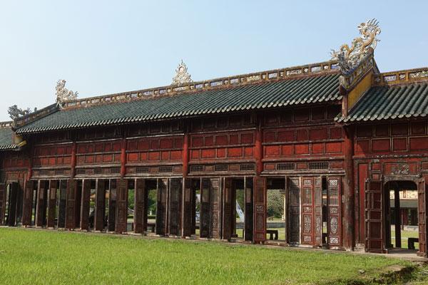 Reisebericht Vietnam Sehenswürdigkeiten Hue Imperial City (Kaiserstadt)