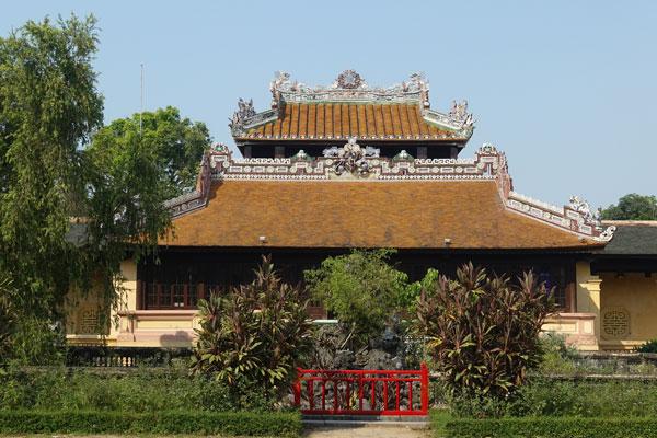 Reisebericht Vietnam Sehenswürdigkeiten Hue Imperial City Kaiserstadt Royal Library