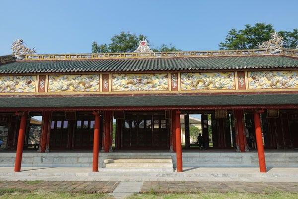 Reisebericht Vietnam Sehenswürdigkeiten Hue Imperial City (Kaiserstadt) The Mieu