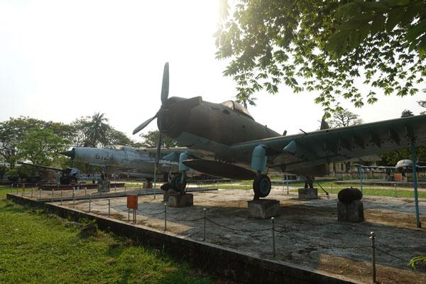 Reisebericht Vietnam Sehenswürdigkeiten Hue Militärmuseum