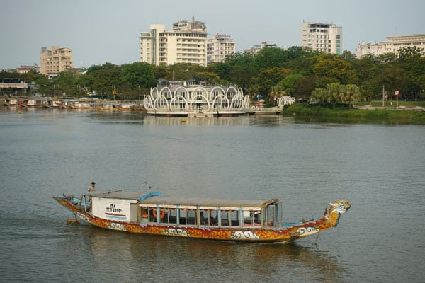 Reisebericht Vietnam Sehenswürdigkeiten Hue Stadtbild Tag