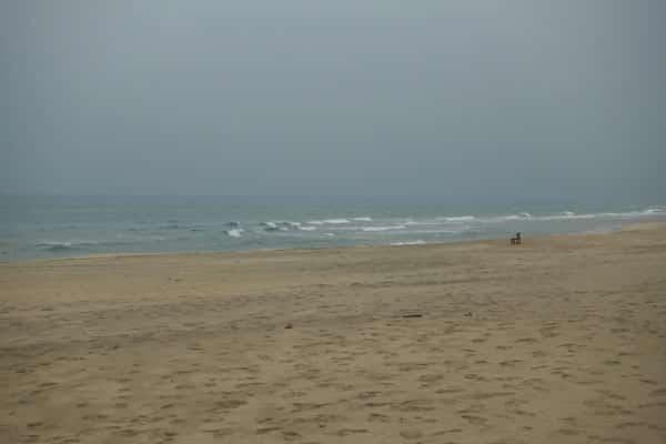 Reisebericht Vietnam Sehenswürdigkeiten Fahrt von Hue nach Hoi an über Da Nang Lang Co Beach