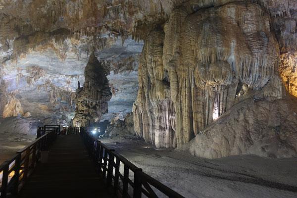Reisebericht Vietnam Sehenswürdigkeiten Phong Nha Nationalpark Paradise-Cave