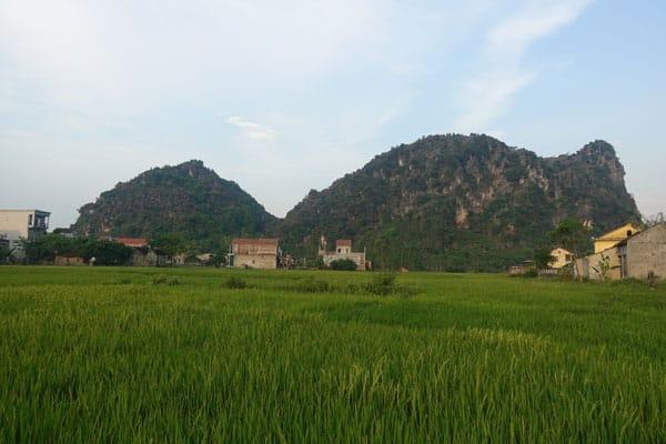 Reisebericht Vietnam Sehenswürdigkeiten Phong Nha Nationalpark Son-Trach-Stadbild