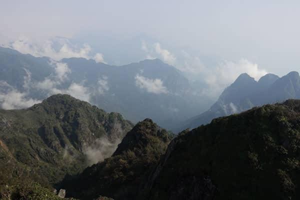 Reisebericht Vietnam Sehenswürdigkeiten Sapa Fansipan-Legend-Aussicht