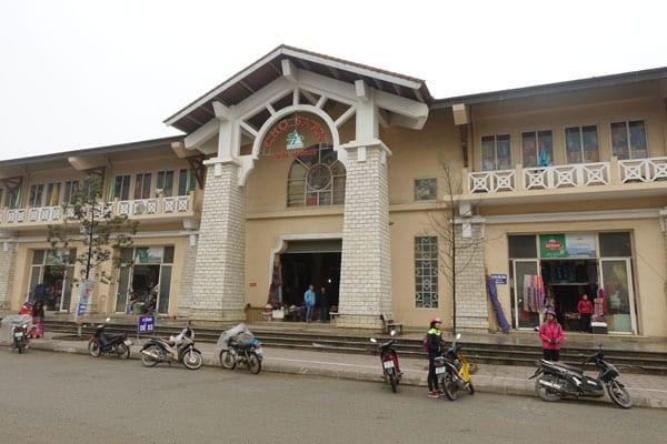 Reisebericht Vietnam Sehenswürdigkeiten Sapa Stadtbild-Markt