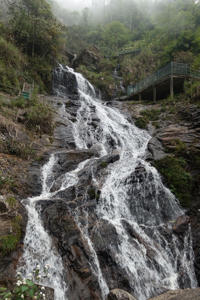 Reisebericht Vietnam Sehenswürdigkeiten Sapa Tagestour-2-Silver-Waterfall