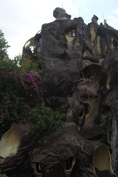 Reisebericht Vietnam Sehenswürdigkeiten Da Lat Crazy House (Verücktes Haus von Hang Nga)