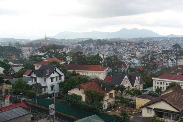 Reisebericht Vietnam Sehenswürdigkeiten Da Lat Crazy House (Verücktes Haus von Hang Nga) Aussicht