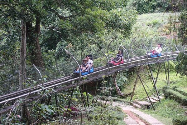 Reisebericht Vietnam Sehenswürdigkeiten Da Lat Datanla Waterfall Sommerrodelbahn