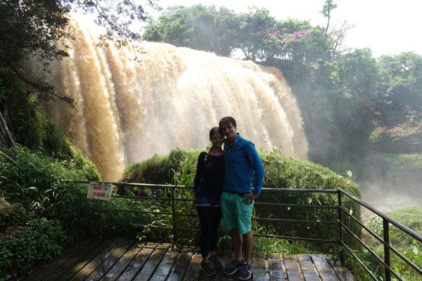 Reisebericht Vietnam Sehenswürdigkeiten Da Lat Elephant Waterfall