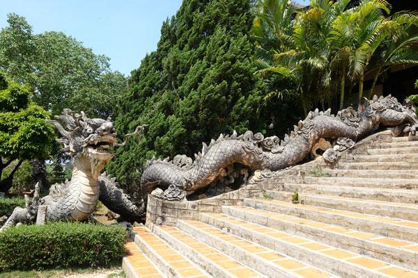 Reisebericht Vietnam Sehenswürdigkeiten Da Lat Linh An Pagode