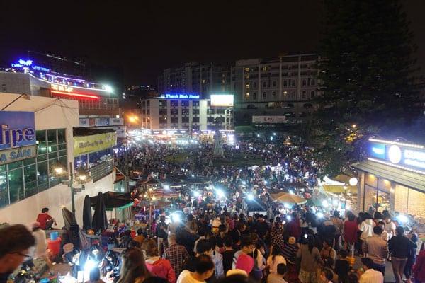 Reisebericht Vietnam Sehenswürdigkeiten Da Lat Night Market