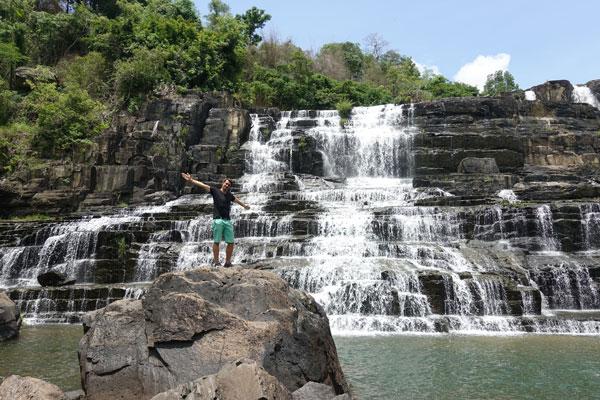 Reisebericht Vietnam Sehenswürdigkeiten Da Lat Pongour Waterfall