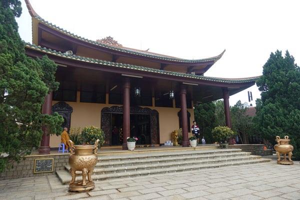 Reisebericht Vietnam Sehenswürdigkeiten Da Lat Truc Lam Pagode