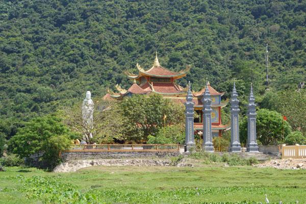 Reisebericht Vietnam Sehenswürdigkeiten Hoi An Tagesausflug Cham Island Ngoc Truyen Tempel