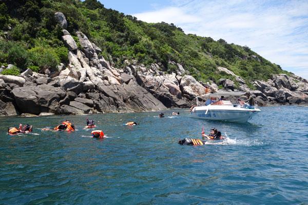Reisebericht Vietnam Sehenswürdigkeiten Hoi An Cham Island Schnorcheln