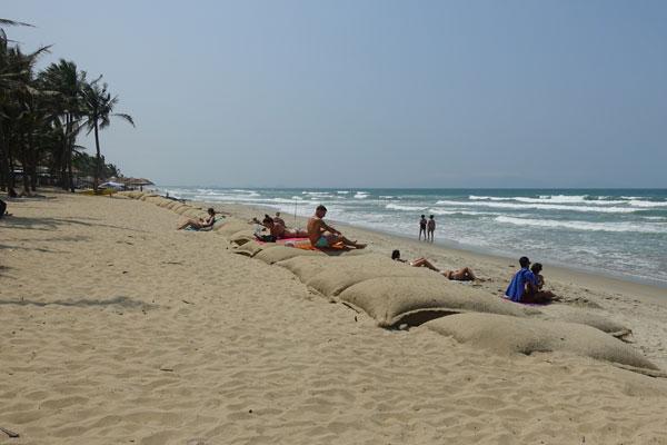 Reisebericht Vietnam Sehenswürdigkeiten Hoi An Cua Dai Beach