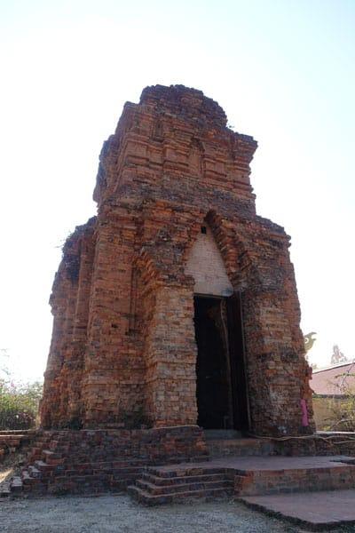 Reisebericht Vietnam Sehenswürdigkeiten Mui Ne Po Shanu Cham-Türme