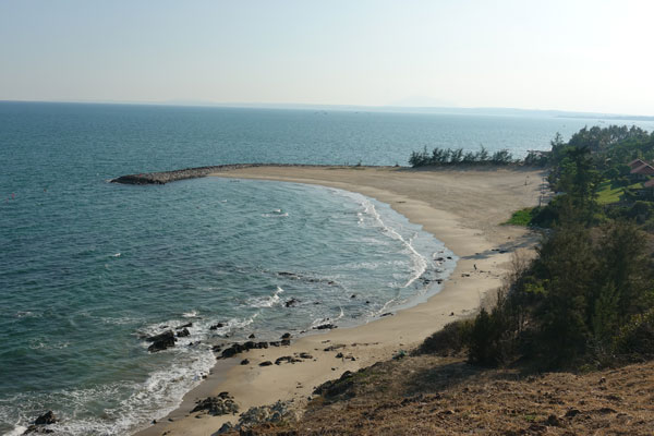 Reisebericht Vietnam Sehenswürdigkeiten Mui Ne Strand Romana Resort 1