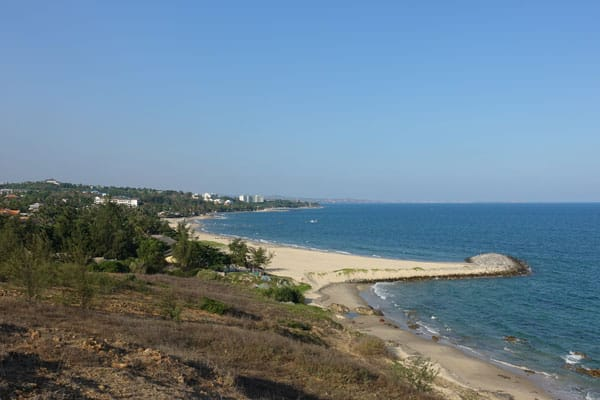 Reisebericht Vietnam Sehenswürdigkeiten Mui Ne Strand White Sand Resort