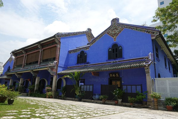 Georgetown Penang Malaysia Cheong Fatt Tze Mansion