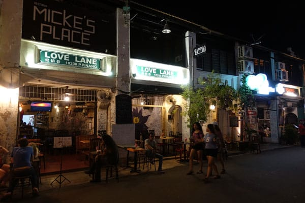 Georgetown Penang Malaysia Love Lane