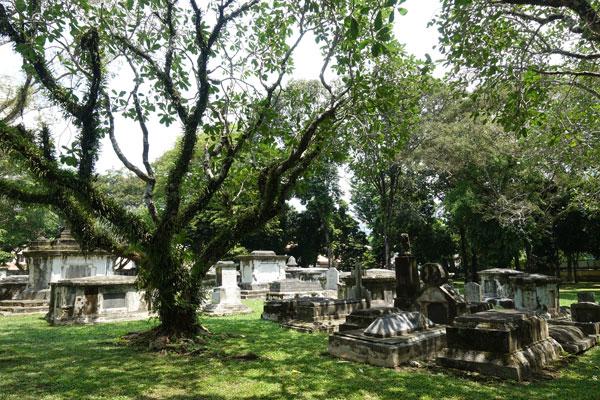 Georgetown-Penang-Malaysia protestantischer Friedhof